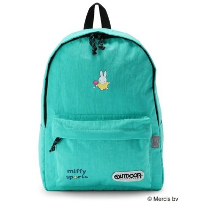 【SALE/40%OFF】OUTDOOR PRODUCTS (W)OUTDOOR PRODUCTS×miffy 柄デイパック M アウトドアプロダクツ バッグ リュック/バックパック ブルー...