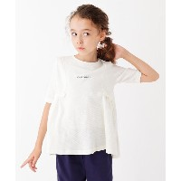 【3can4on(Kids)(サンカンシオン(キッズ))】 【100-140cm】Aラインプルオーバー OUTLET > 3can4on(Kids) > トップス > カットソー ホワイト