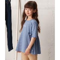 【3can4on(Kids)(サンカンシオン(キッズ))】 【100-140cm】Aラインプルオーバー OUTLET > 3can4on(Kids) > トップス > カットソー ネイビー