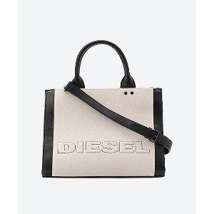 DIESEL(Women)/ディーゼル  Mix Mat. with Leather Tote M ソノタ【三越伊勢丹/公式】 バッグ~~トートバッグ~~レディース トートバッグ