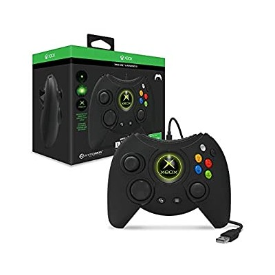 【中古】DUKE Xbox One ゲームコントローラー ブラック Hyperkin Black Wired Controller Xbox One & Windows10