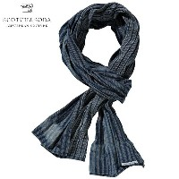 【15%OFFセール 1/19 10:00~1/22 9:59】 スコッチアンドソーダ SCOTCH&SODA 正規販売店 メンズ スカーフ Patterned scarf with overdye...