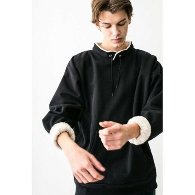 【SALE/63%OFF】BEAUTY & YOUTH UNITED ARROWS  monkey time  BACK SHAGGY PULLOVER STAND/スウェット ◆...