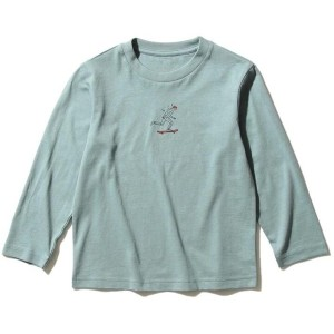 【THE SHOP TK(Kids)(ザ ショップ ティーケー(キッズ))】 【150・160cm】【WEB限定カラー有り】グラフィックプリントロングTシャツ OUTLET > THE SHOP...