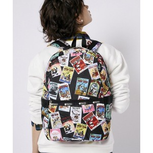 LeSportsac CARRIER BACKPACK/ディズニー ヴィンテージ ポスターズ