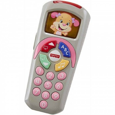 Fisher-Price フィッシャープライス Laugh & Learn Sis' Remote with Light-up Screen 知育玩具 英会話 英語 【送料無料】【代引不可】...