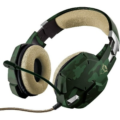 TRUST GAMING-GXT 322C Gaming Headset-green camouflage[新品・正規保証品]