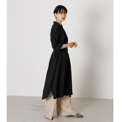 TRENCH LONG SHIRT GOWN/アズールバイマウジー