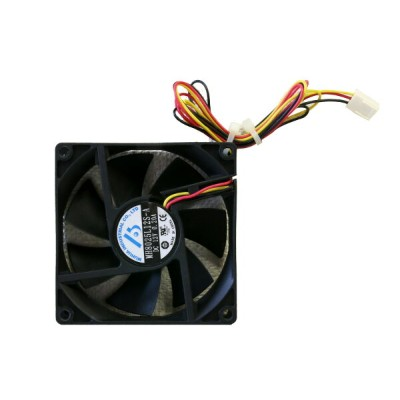 MH8025L12S-A MUHUA INDUSTRIAL PC用ケースファン 80x80x25mm DC 12V/0.20A【中古】