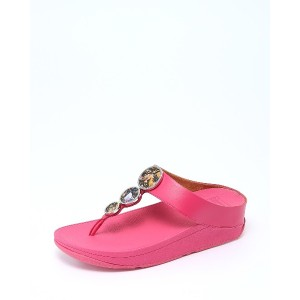 fitflop HALO FLOWERCRUSH○R06666 Psychedelic pink コンフォート