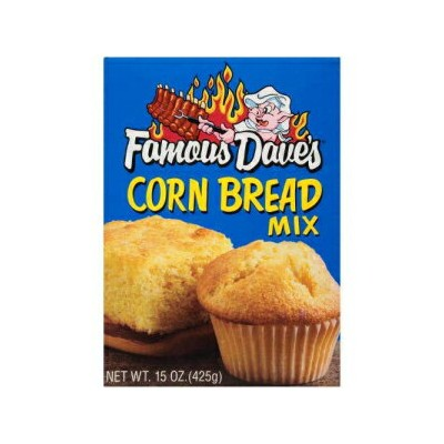 Famous Dave's Corn Bread Mix (Pack of 4)