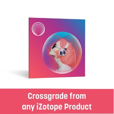 iZotope/Neoverb crossgrade from any paid iZotope product【〜12/8 期間限定特価キャンペーン】【オンライン納品】