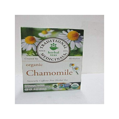 Traditional Medicinals Tea Og1 Chamomile 16 Bag