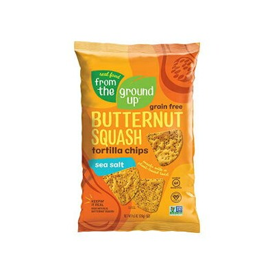 Real Food From The Ground Up Tortilla Chips (6 Pack) (Sea Salt, Butternut Squash)