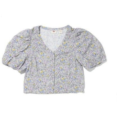 【SALE/50%OFF】Levi's HOLLY BLOUSE MONROVIA FLORAL LAVENDER リーバイス シャツ/ブラウス 長袖シャツ