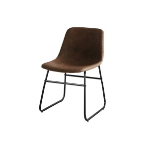 CHIC FURNITURE Chair○CH3285 ブラウン チェア・ベンチ・スツール