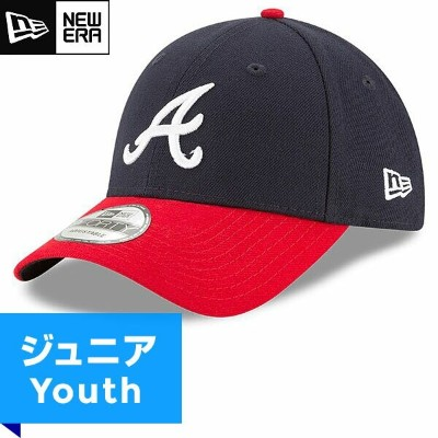 MLB ブレーブス レプリカ9FORTYキャップ(ジュニア) New Era Atlanta Braves Youth Home Replica 9Forty Cap