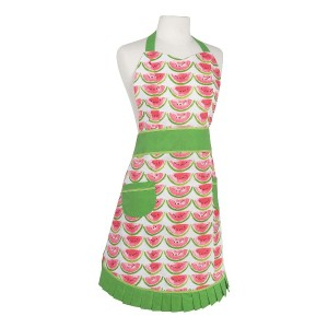 Now Designs ベティエプロン Watermelon○ND605908 キッチン/バスリネン
