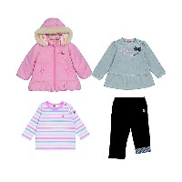 HOT BISCUITS MIKIHOUSE(Baby & Kids)/ホットビスケッツ ミキハウス  2008【福袋】ホットビスケッツ ミキハウス女児福袋 ピンク【三越伊勢丹/公式】...