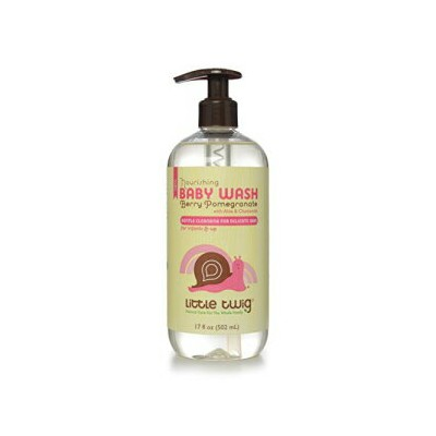Little Twig All Natural Baby Wash, Berry Pomegranate, 17 Fluid Oz