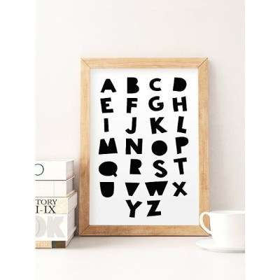 NORSE KIDS | ALPHABET PRINT | A3 アートプリント/ポスター