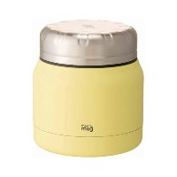 THERMO MUG MINI TANK○TNK1830 Citrus yellow お弁当箱・水筒