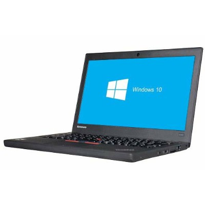 【あす楽対応】lenovo ThinkPad X250 Windows10 64bit WEBカメラ Core i5 5200U メモリー4GB HDD500GB 無線LAN B5サイズ...