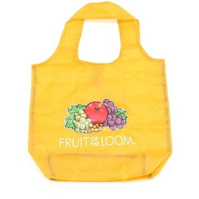 FRUIT OF THE LOOM FRUIT OF THE LOOM/(U)FTL PACKABLE ECO TOTE ST ハンドサイン バッグ エコバッグ/サブバッグ イエロー ブルー...