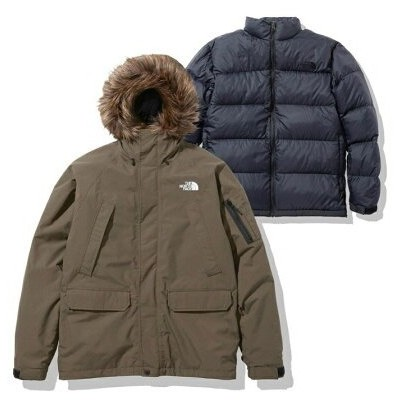 THE NORTH FACE THE NORTH FACE GRACE TRICLIMATE JACKET アトモスピンク コート/ジャケット コート/ジャケットその他 カーキ【送料無料】