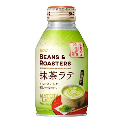UCC BEANS&ROASTERS 抹茶ラテ リキャップ缶 260g×24個入り (1ケース) (MS)