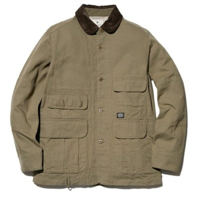 スノーピーク(snow peak) TAKIBI Duck Jacket Men's M Olive JK-20AU10503OL