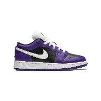 Jordan Kids Air Jordan 1 Low GS スニーカー - パープル