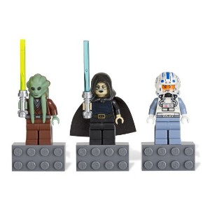 レゴ マグネット 852947 SW Magnet Set - Kit Fisto, Barriss Offee, Captain Jag