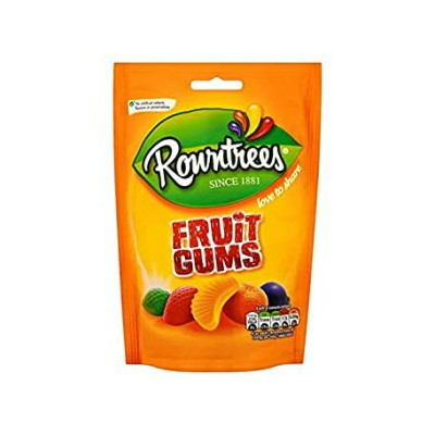 Rowntree's 4.3 Ounce (Pack of 1), Rowntrees Fruit Gums (120g x 6)