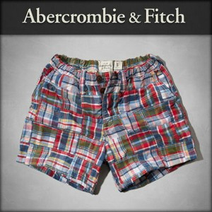 【25%OFFセール 10/14 20:00~10/18 9:59】 アバクロ Abercrombie&Fitch 正規品 メンズ ショートパンツ A&F Campus Fit Shorts 128...