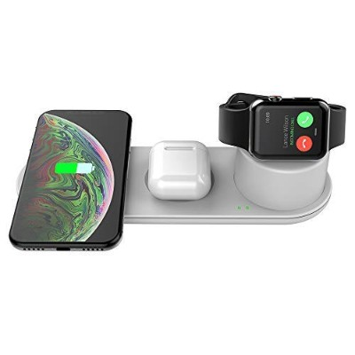 Kartice 充電器 Compatible with iPhone12/12 Pro/12 Pro Max/12 mini iPhone12 ワイヤレス充電器 Apple Watch SE 6 5...