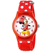 ディズニー 腕時計 キッズ 時計 子供用 ミニー Disney Kids' W001250 Disney Tween Minnie Mouse Plastic Watch, Plastic...