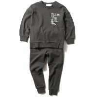 【THE SHOP TK(Kids)(ザ ショップ ティーケー(キッズ))】 【WEB限定】スウェットセットアップ OUTLET > THE SHOP TK(Kids) > ワンピース >...