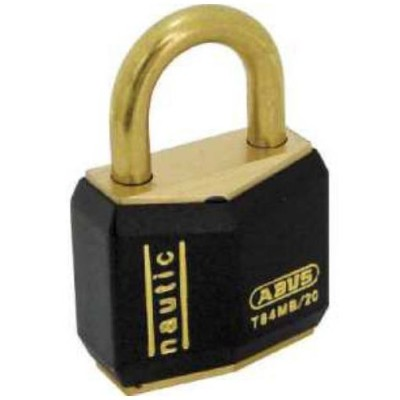 ABUS 真鍮南京錠 T84MB−20 バラ番