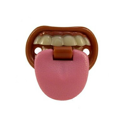 Billy-Bob Baby with Attitude Tongue Pacifier, Billy Bob Teeth Pacifier