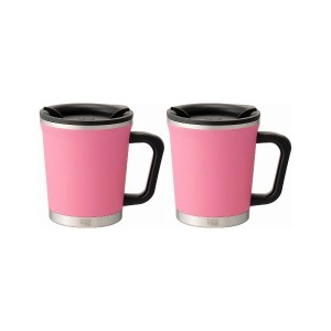 THERMO MUG Double mug 2pcs set○DM1830/DM1830 Pink 食器