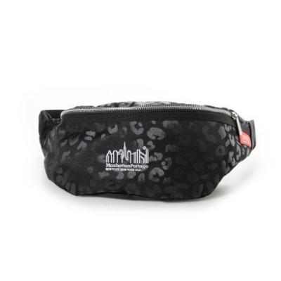 マンハッタンポーテージ Manhattan Portage Brooklyn Bridge Waist Bag Leopard 2020 (Black)
