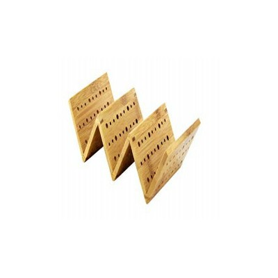 """PacknWood Bamboo Taco Holder, 8.14"""" Length x 1.96"""" Height (Case of 5)"""