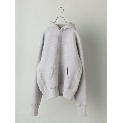 SHIPS CAMBER: CROSSKNIT PULLOVER PARKA GRAY シップス カットソー パーカー グレー【先行予約】*【送料無料】