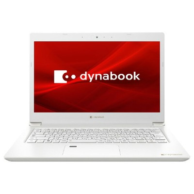 Dynabook ノートパソコン dynabook S3 パールホワイト P1S3PPBW [P1S3PPBW]