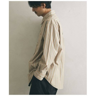 【SALE/40%OFF】JOURNAL STANDARD relume 【PALMER for relume】SLOUCHY ストライプシャツ ジャーナル スタンダード レリューム シャツ...