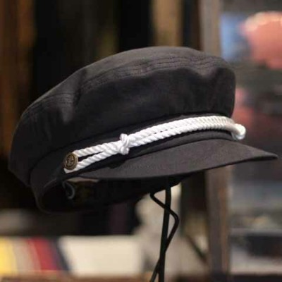 """Delinquent Bros""""Vintage Style Ciggy Hat""""NAVY【Delinquent Bros】(デリンケントブロス)正規取扱店(Official Dealer..."""