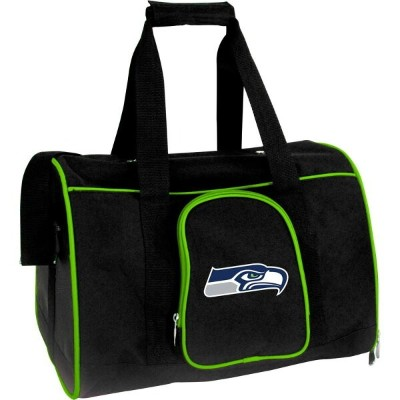 """NFL ペットグッズ 犬用品 キャリーバッグ 【16"""" Dog and Cat Carrier】Seattle Seahawks"""