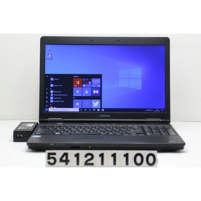 東芝 dynabook Satellite B552/H Core i5 3340M 2.7GHz/4GB/128GB(SSD)/Multi/15.6W/FWXGA(1366x768)/Win10...
