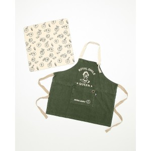 AND PACKABLE KAP キッズエプロン○66371 ロイヤルgr キッズ・ベビー用品